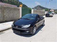 Peugeot 206 CC Cabrio shitet ose nderrohet