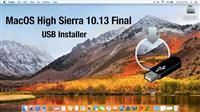 MacOS High Sierra 10.13 USB Installer