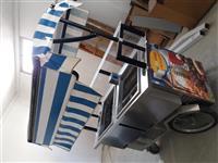 Karroce per akullore monofaze me 2 motorra