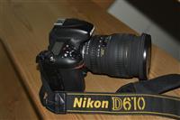 Nikon d 610 me lente sigma 24-70f 2.8