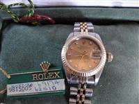 Genuine Rolex Diamond Datejust me byzylyk origjina