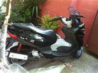 malaguti me motor yamahe 250cc