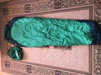 Marmot mummy sleeping bag per kamping, alpinizem