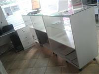 Mobilje salle interneti + banak xhami