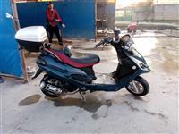 Skuter 125cc 4 kosh