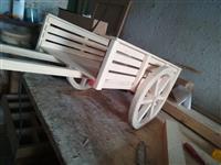 Shesim dhe bejme objekte dekorative druri