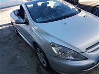 Peugeot 307cc kabrio benzin+gas