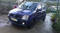 Opel Agila benzin+gaz