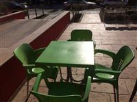 Komplete tavolina karrige per lokale