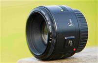 Canon lente 50mm 1:8