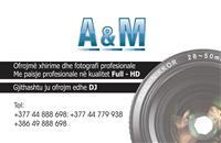 A&M produksion Xhirime dasma profesionale