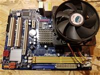 Motherboard cpu 2gb ram