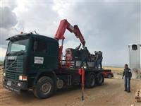 Kamion VOLVO F12 Me kran 10 Ton