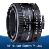 LENTE NIKON 50mm f 1,8 D