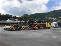 Top okassion kamjon transporti makinash