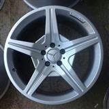4 disqe AMG + goma benz. S clas. CLS 19 inch