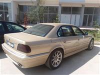 BMW 740i benzin gaz