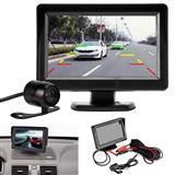 """Ekran LCD 5"""" + Kamera e parkimit+kabujt e nevojshe"""