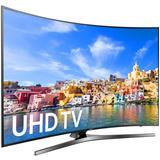 "Tv 32""-75"" led ultra hd 4K smart curved."