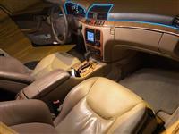 Mercedes benz S500 LUNGO 350-HP benzin gas OKAZION