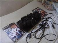 PlayStation 2 +1 Memorie Kart 8Mb +2 Leva+2 lojera