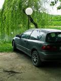 Honda civic benzine-gaz