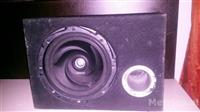 Subwofer Kenwood + Amp Blaupunkt 750 watts