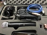 mikrofon me wireless Shure SM58