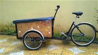 Karroce me tre rrota Cargo trike