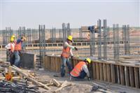 Punëtorët dhe punëtorët e ndërtimtarisë