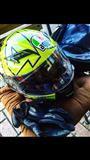 Kokore AGV Valentino rossi replica winter test.