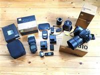 Nikon D810 corps, Nikkor 85 mm 1,8