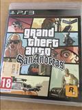 Disk i GTA San Andrea i PlayStation 3