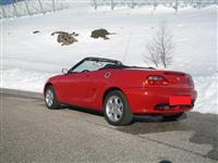 MG kabriolet 1.8 Benzin/ viti 1998/ 120.000km