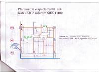 Apartament 120m2 në Tirane 2+1