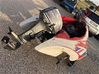 Motor 40cv  esht super i shpejt dhe pak i perdorur
