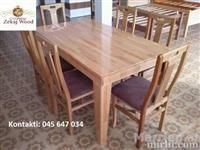 Tavolina karrike ne gjendje shum te mir