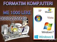 FORMATIM PC&LAPTOP,WINDOWS XP,VISTA,7,8