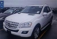 MERCEDES BENZ ML 350 benzine+gaz