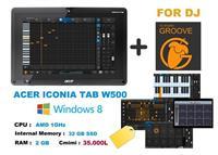 Acer Iconia Tab W500 + Fl Studio Groove