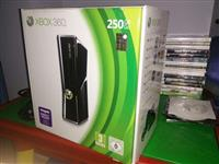 XBox 360 Slim 250GB me kinect+chip+lojra