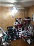Pionner Kasetofona, amplifikator, bokse