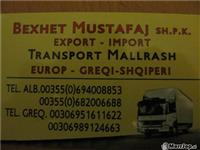 TRANSPORT MALLRASH GJITH EUROPEN