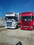 Scania 164 580 2003 dhe r420 2007