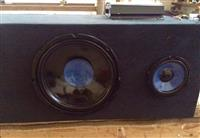 Sistem audio Sony 2 woofer+ amp