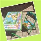 Tavolin dhe karrike