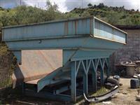 Bunker ushqyes dhe zgroseto per gurore dhe lumi