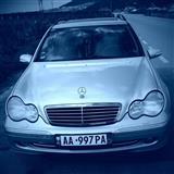 Mercedes C200 kompresor benzin gaz