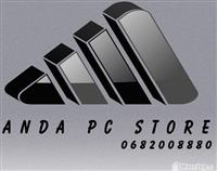 ANDA PC STORE MIRMBAN FAQE FACEBOOK DHE KRIJON F..