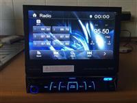 Radio universale 2din me ekran qe hapet lart